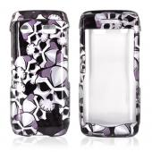 Blackberry Pearl 3G 9100/9105 Hard Case - Skulls on Black