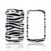 Blackberry Curve 9360/ Apollo Hard Case - Black/ White Zebra