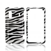 HTC EVO Design 4G Hard Case - Black/ White Zebra