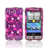 HTC FreeStyle Hard Case - Pink Pedals