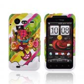 HTC Droid Incredible 2 Hard Case - Colorful Pirate Bay on White