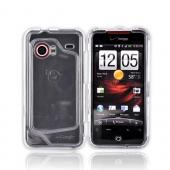 HTC Droid Incredible Hard Case - Transparent Clear