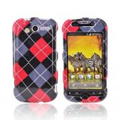 T-Mobile MyTouch 4G Hard Case - Red, Gray, Black, White Argyle