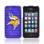 NFL Licensed Apple iPhone 4/4S Hard Case - Minnesota Vikings