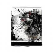 Geeks Designer Line (GDL) Apocalyptic Series Apple iPad (2nd &amp; 3rd Gen.) Hard Back Cover - Collapse