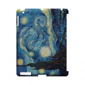 Vincent Van Gogh Starry Night Geeks Designer Line Artist Series Slim Hard Case for Apple iPad (3rd & 4th Gen.)