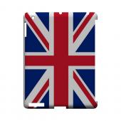 United Kingdom Geeks Designer Line Flag Series Slim Hard Case for Apple iPad (3rd & 4th Gen.)