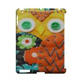Yellow/ Orange Owl Geek Nation Program Exclusive Jodie Rackley Series Hard Case for Apple iPad (3rd &amp; 4th Gen.)