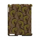 Large Mouth Bass Design - Geeks Designer Line (GDL) Fish Series Hard Back Cover for Apple iPad (3rd & 4th Gen.)