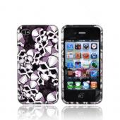 Apple Verizon/ AT&amp;T iPhone 4, iPhone 4S Hard Case - Skulls