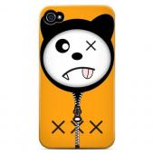 XXX - Geeks Designer Line Hoodie Kitty Series Hard Case for Apple iPhone 4/4S