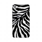 Zebra Print Animal Series GDL Ultra Slim Hard Case for Apple iPhone 4/4S Geeks Designer Line