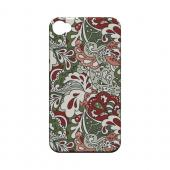 Green/ Red/ Pink Paisley - Geeks Designer Line Floral Series Hard Case for Apple iPhone 4/4S
