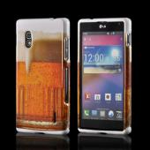 Golden Beer Hard Case for LG Optimus G (AT&T)