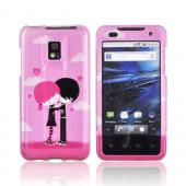 T-Mobile G2X Hard Case - Pink Emo Love