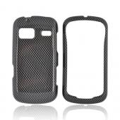 LG Rumor Reflex Hard Case - Black/ Gray Carbon Fiber
