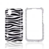 LG Marquee LS855 Hard Case - Black/ White Zebra