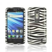 LG Nitro Hard Case - Black/ Silver Zebra