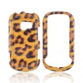 LG Extravert VN271 Hard Case - Black/ Brown Leopard
