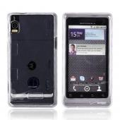Motorola Droid 2 A955 Hard Case - Transparent Clear