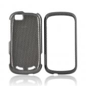 Motorola CLIQ 2 Hard Case - Carbon Fiber