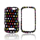 Motorola Clutch+ i475 Hard Case - Rainbow Polka Dots