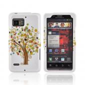 Motorola Droid Bionic XT875 Hard Case - Tree Design on White