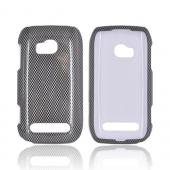 Nokia Lumia 710 Hard Case - Carbon Fiber