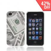 AT&T/ Verizon Apple iPhone 4, iPhone 4S Hard Case - $100 Bills - XXIP4