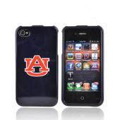 NCAA Licensed Apple Verizon/ AT&T iPhone 4, iPhone 4S Hard Case - Auburn Tigers