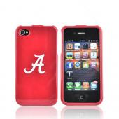 NCAA Licensed Apple Verizon/ AT&T iPhone 4, iPhone 4S Hard Case - Alabama Crimson Tide