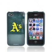 MLB Licensed AT&T/Verizon Apple iPhone 4, iPhone 4S Hard Case - Oakland A's