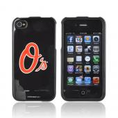 MLB AT&T/ Verizon Apple iPhone 4, iPhone 4S Hard Case - Baltimore Orioles
