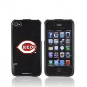 MLB AT&T/ Verizon Apple iPhone 4, iPhone 4S Hard Case - Cincinnati Reds