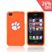 NCAA Licensed Apple Verizon/ AT&amp;T iPhone 4, iPhone 4S Hard Case - Clemson Tigers