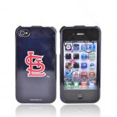 MLB Licensed AT&amp;T/Verizon Apple iPhone 4, iPhone 4S Hard Case - St. Louis Cardinals