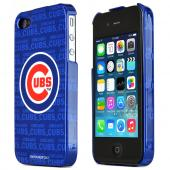 MLB Licensed AT&amp;T/Verizon Apple iPhone 4, iPhone 4S Hard Case - Chicago cubs