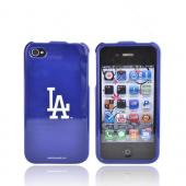 MLB Licensed AT&T/Verizon Apple iPhone 4, iPhone 4S Hard Case - Los Angeles Dodgers