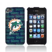 NFL Licensed Apple iPhone 4/4S Hard Case - Miami Dolphins