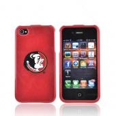 NCAA Licensed Apple Verizon/ AT&amp;T iPhone 4, iPhone 4S Hard Case - Florida State Seminoles