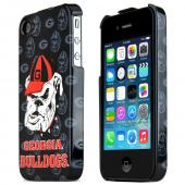 NCAA Licensed Apple Verizon/ AT&amp;T iPhone 4, iPhone 4S Hard Case - Georgia Bulldogs
