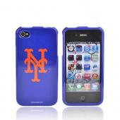 MLB Licensed AT&amp;T/Verizon Apple iPhone 4, iPhone 4S Hard Case - New York Mets