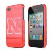 NCAA Licensed Apple Verizon/ AT&amp;T iPhone 4, iPhone 4S Hard Case - Nebraska Cornhuskers