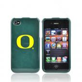 NCAA Licensed Apple Verizon/ AT&amp;T iPhone 4, iPhone 4S Hard Case - Oregon Ducks