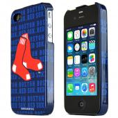 MLB Licensed AT&amp;T/Verizon Apple iPhone 4, iPhone 4S Hard Case - Boston Red Sox