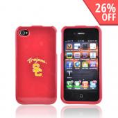 NCAA Licensed Apple Verizon/ AT&amp;T iPhone 4, iPhone 4S Hard Case - Southern California Trojans
