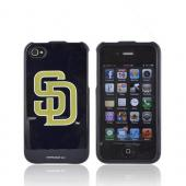 MLB AT&T/ Verizon Apple iPhone 4, iPhone 4S Hard Case - San Diego Padres