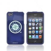 MLB Licensed AT&amp;T/ Verizon Apple iPhone 4, iPhone 4S Hard Case - Seattle Mariners