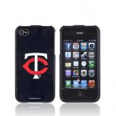 MLB AT&amp;T/ Verizon Apple iPhone 4, iPhone 4S Hard Case - Minnesota Twins