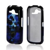 Blue Skull Hard Case for Pantech Burst